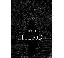 Hero - Black Photographic Print