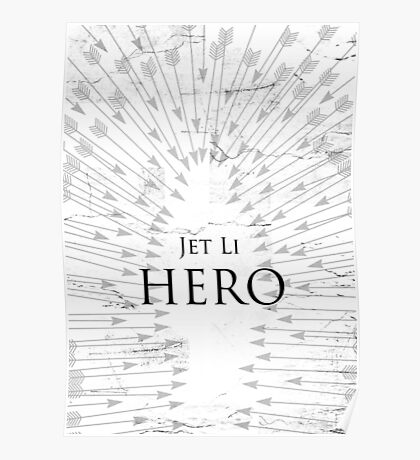Hero - White Poster