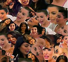 Kim kardashian crying collage by spaceghosts