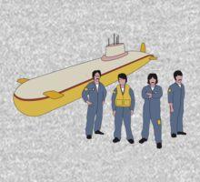 Yellow Submarine One Piece - Long Sleeve