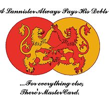 A Lannister always pays his debts by Wrest216