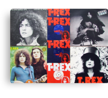 T.Rex Tribute                                                        Canvas Print
