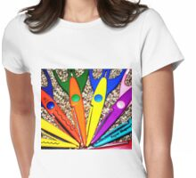 Paper Shapers Womens Fitted T-Shirt