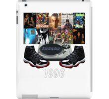 1996 Hip Hop & Jordans (Infrared23) iPad Case/Skin