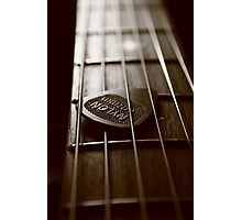 lazy guitar Photographic Print