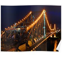 Story Bridge Brisbane Poster