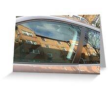 Building in your car Greeting Card