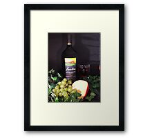 Wine & Cheese 2 Framed Print