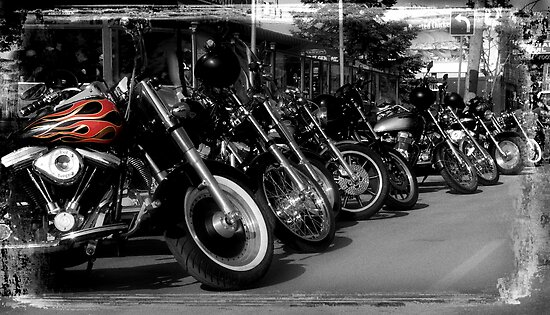 Hell's Bikes by Marny Barnes