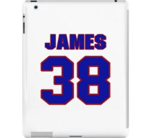 National football player Roland James jersey 38 iPad Case/Skin