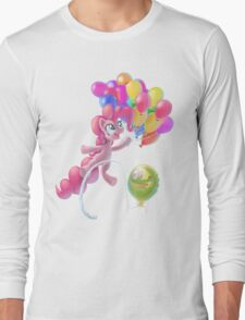 Pinkie Sky Long Sleeve T-Shirt