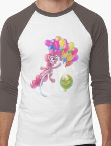 Pinkie Sky Men's Baseball ¾ T-Shirt
