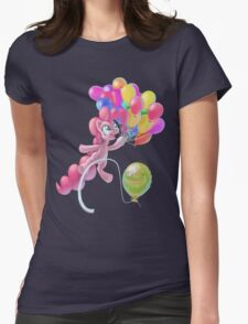 Pinkie Sky Womens Fitted T-Shirt