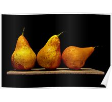 Pears II Poster