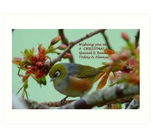 Special & Beautiful - Christmas Greeting Card - NZ Art Print