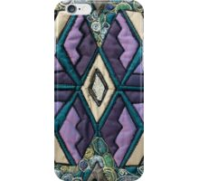 Breathe in, breathe out - Quilt Art iPhone Case/Skin