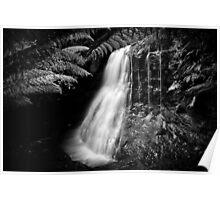 Silver Falls, Tasmania Poster