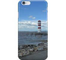 The lighthouse on the Lake iPhone Case/Skin