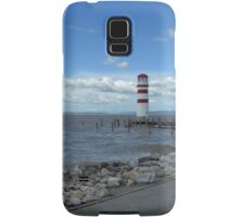 The lighthouse on the Lake Samsung Galaxy Case/Skin