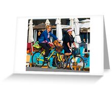The Ride Greeting Card