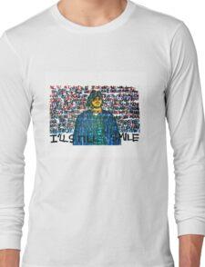 Smile (Eyedea Portrait) Long Sleeve T-Shirt