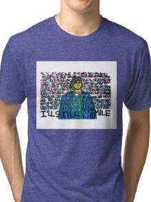 Smile (Eyedea Portrait) Tri-blend T-Shirt