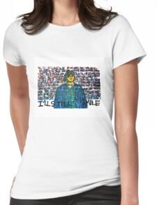 Smile (Eyedea Portrait) Womens Fitted T-Shirt