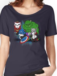 The PandAvengers Women's Relaxed Fit T-Shirt