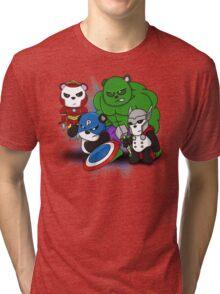 The PandAvengers Tri-blend T-Shirt