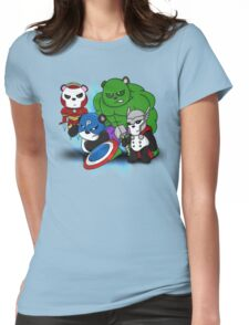 The PandAvengers Womens Fitted T-Shirt