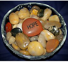 Bowl of Hope Photographic Print
