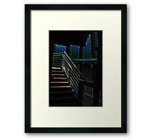Last Step Framed Print