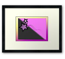 STAR GAZING Framed Print
