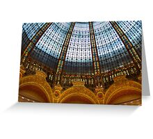 Galeries Lafayette Greeting Card