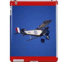 Nieuport Scout, RAAF Museum Air Pageant 2000, Victoria iPad Case/Skin
