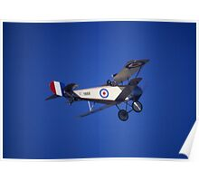 Nieuport Scout, RAAF Museum Air Pageant 2000, Victoria Poster