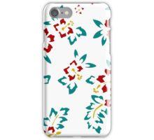 Minimalist Hibiscus Design iPhone Case/Skin