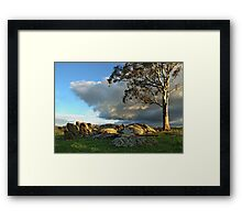 One Sunday Framed Print