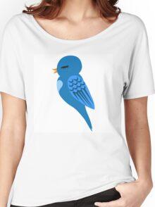 Adorable single cartoon bird Women's Relaxed Fit T-Shirt