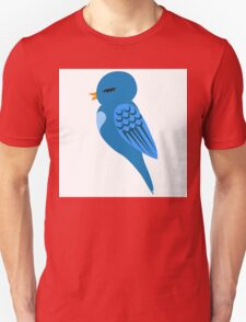 Adorable single cartoon bird Unisex T-Shirt