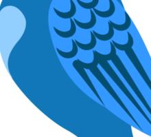Adorable single cartoon bird Sticker