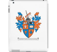 Reddit Coat of Arms with Cat iPad Case/Skin