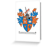 Reddit Coat of Arms with Cat Greeting Card