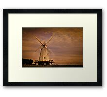 .. WINDMILL .. Framed Print