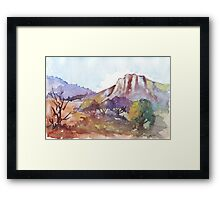 Magaliesberg Mountains 1 Framed Print