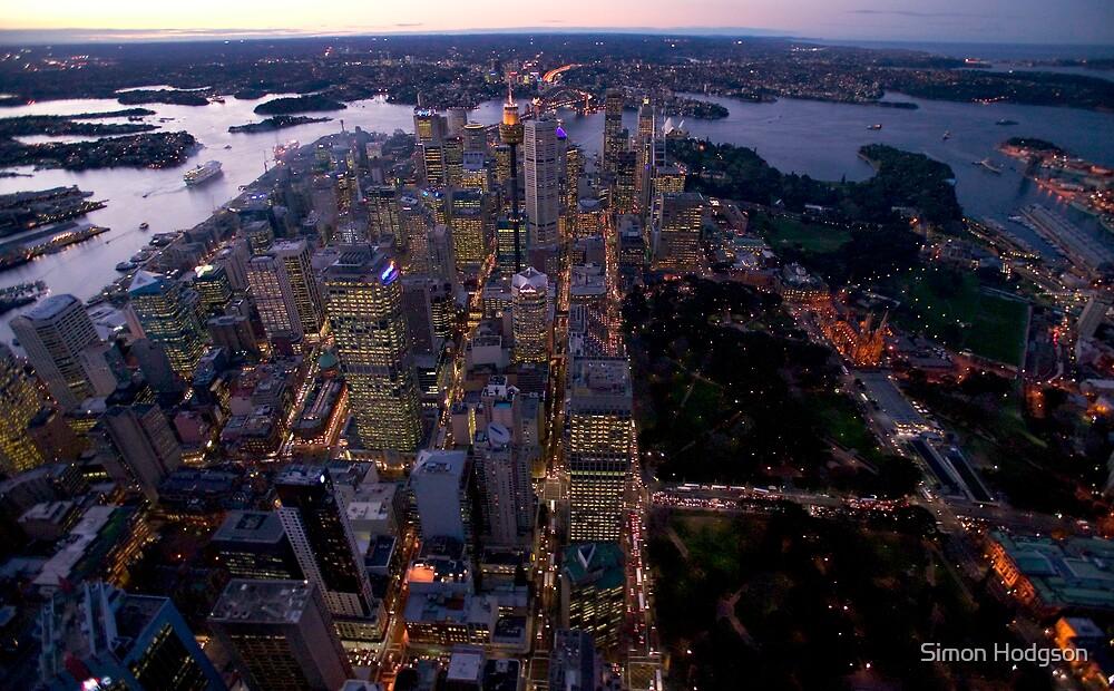 Sydney CBD by Simon Hodgson