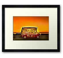 Mr Whippy Framed Print
