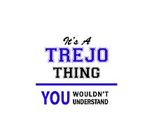 It's a TREJO thing, you wouldn't understand !! by allnames