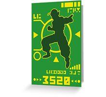 DBZ - Namekian Power Over 3500 Greeting Card