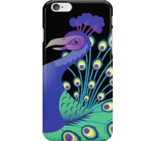 A splendid green and blue Peacock iPhone Case/Skin